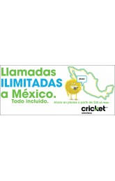 Liamadas a mexico cricket banner