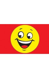 Happy face Red