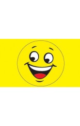 Happy face yellow